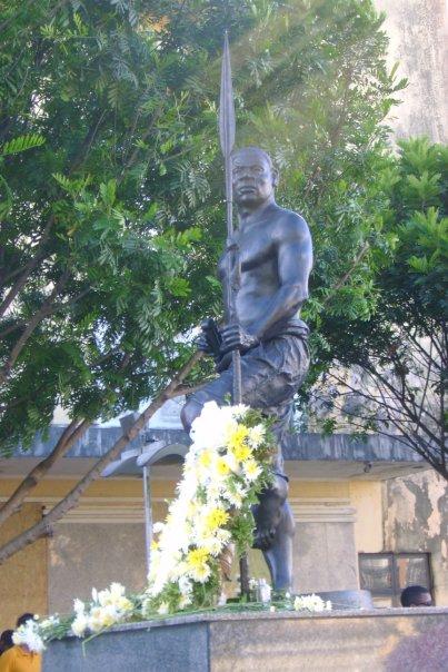 Zumbi dos Palmares. Feliz Dia da Consciência Negra!