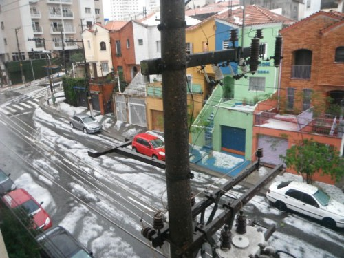 hail in São Paulo