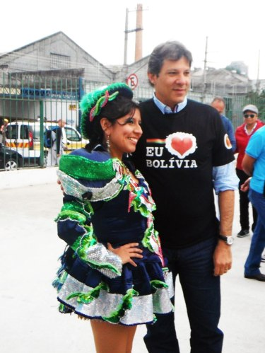 Mayor Fernando Haddad made an appearance.