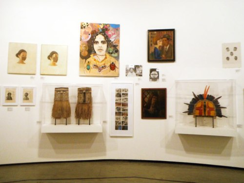 Part of the Masks and Portraits section.
