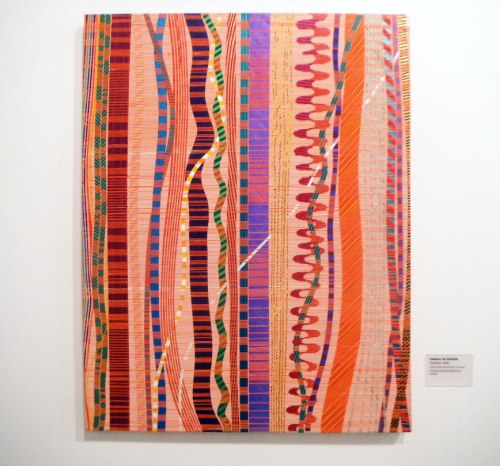 Olodumaré; not a textile but actually an acrylic painting!