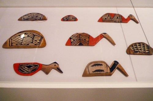 Indigenous spatulas, used to flip over manioc cake.