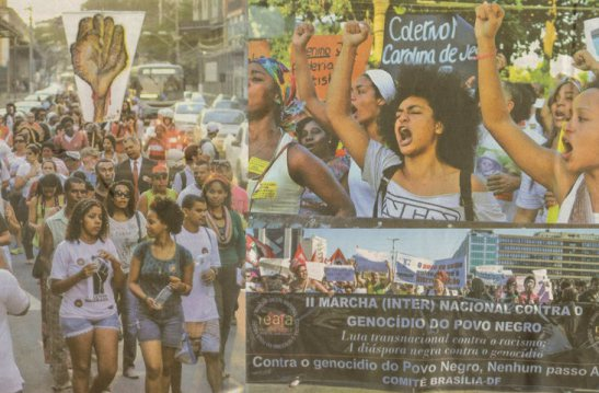Marches Against Black Genocide on August 22nd took place all over Brazil