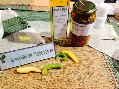 Olive oil with murupi pepper - Amazonas