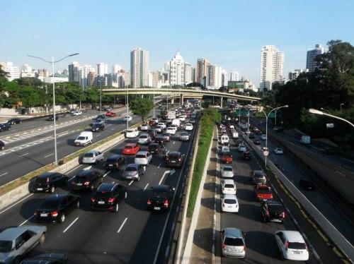 View from Ibirapuera, São Paulo