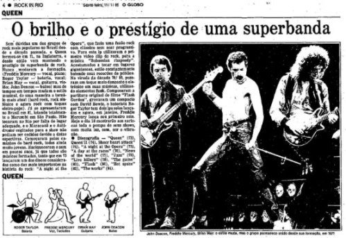 queen in rock in rio, 1985
